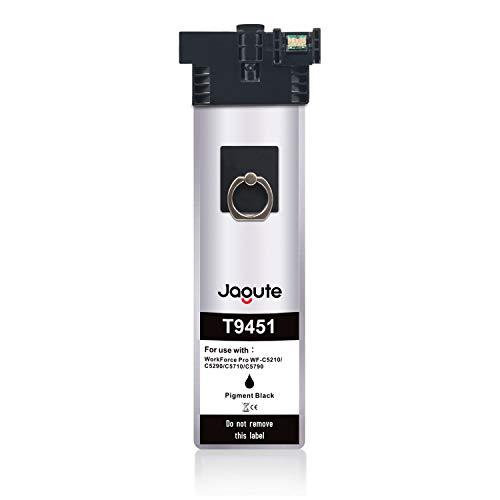 Jagute T9451 Compatibile Cartucce d'inchiostro Sostituzione per Epson T9451 T9452 T9453 T9454 9451 per Epson WorkForce Pro WF-C5210DW WF-C5290DW WF-C5710DWF WF-C5790DWF