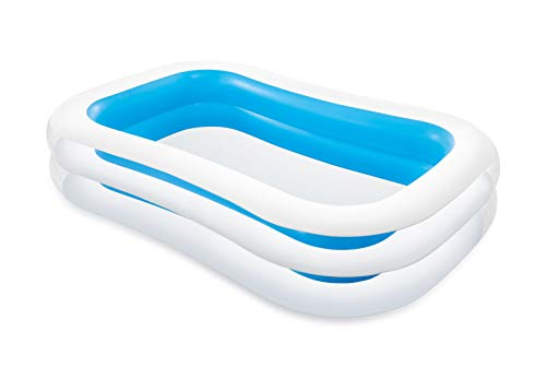 Intex 56483NP - Piscine gonflable rectangulaire 262 x 175 x 56 cm, 770 litres (couleurs assorties),...