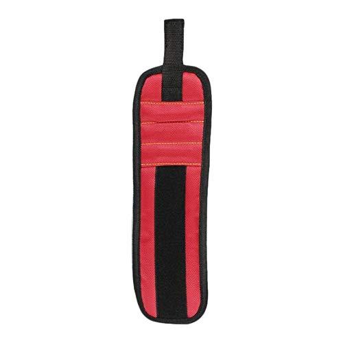 Magnetisches Armband Tragbare Werkzeugtasche Magnet Elektriker Handgelenk Werkzeug Gürtel Schrauben Nägel Bohrer Armband Für Repair Tool, wie abgebildet, Spanien