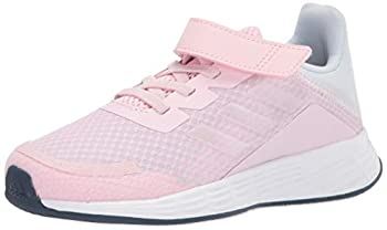 adidas Duramo SL Running Shoe Pink/Iridescent/Halo Blue 3 US Unisex Little Kid