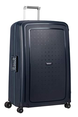 Samsonite S'Cure - Spinner XL Suitcase, 81 cm, 138 Litre, Blue (Navy Blue Capri)