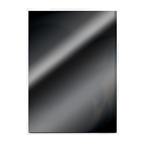 Tonic Studios Craft Card, Glossy Black, A4