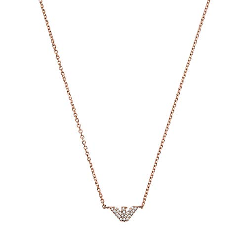 Emporio Armani womens Sterling silver Not applicable applicable No Gemstone Necklaces - EG3477221