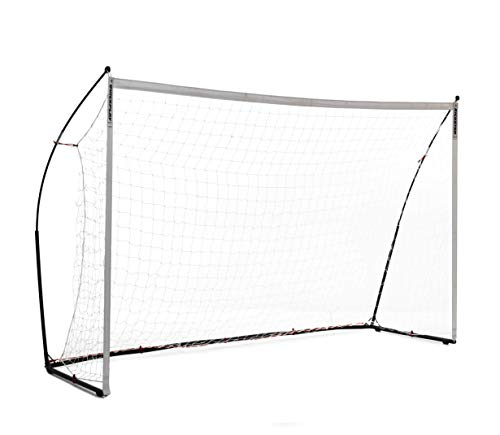 QUICKPLAY Kickster Elite Soccer Goal with Integrated Weighted Base for Indoor & Outdoor Soccer 10x6.5 / 3x2M [Single Goal]