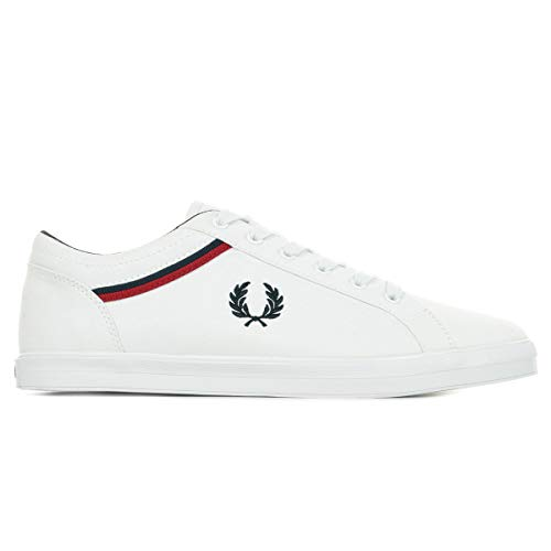 Fred Perry Baseline Canvas B8223100, Deportivas - 44 EU