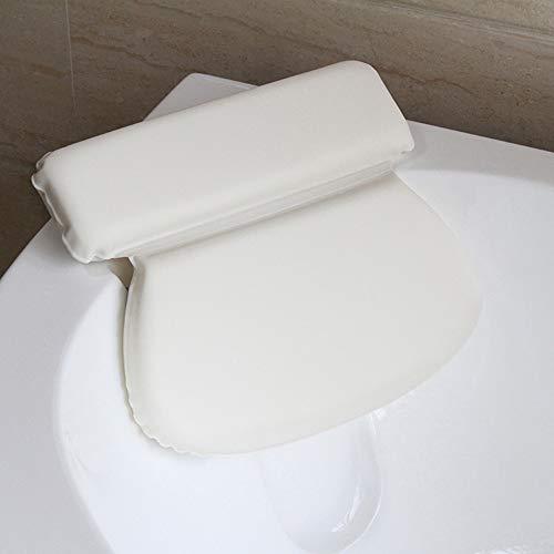 JinSu Tappetino per Vasca da Bagno con Cuscino, Cuscino di Vasca da Bagno con Ventose Antiscivolo, Antibatterico Foamed PVC Cuscino, Accessorio da Vasca (125 * 36CM)