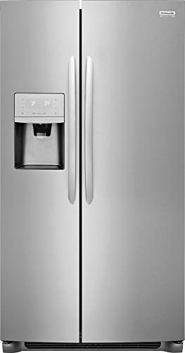 Frigidaire FGSC2335TF Gallery Series 36 Inch Freestanding Counter Depth Side by Side Refrigerator with 22.2 cu. ft. Capacity, in Stainless Steel