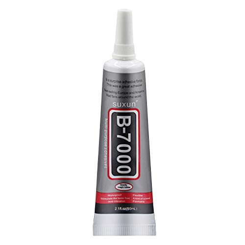 50ml Multi-Function B-7000 Adhesive Glue for DIY Jewelry Smart Phone Electronic Components Toys Glass Wood Rubber Leather Ceramics