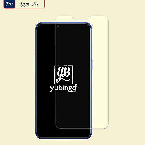 YuBingo Screen Guard for Oppo A5 (Flexible. Shatter & Scratch Resistant, HD Clarity, Case Friendly)