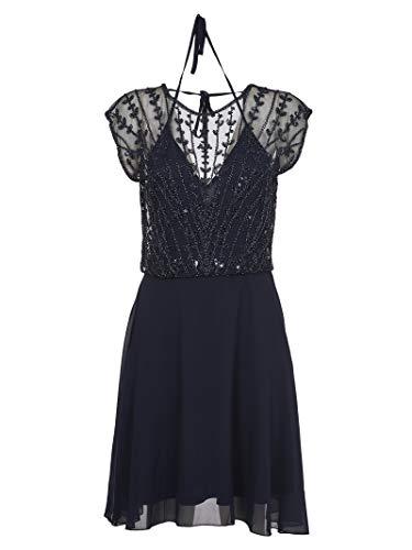 MOLLY BRACKEN W760P20 Navy Blue - Vestido de mujer azul