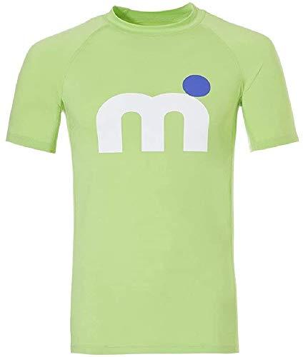 MISTRAL Orlando - Camiseta de Manga Corta para Hombre (Licra, Talla S), Color Verde
