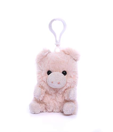Plushland Stuffed Animal Toys Cute Soft Baby Pig Keychain-Key Ring Decoration- Lovely Gift Birthday Party Favor Mother's Day, Graduation