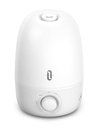 Humidifiers for Babies, TaoTronics 3-IN-1 Humidifier with Essential Oil Diffuser and Night Light, 2.5L Cool Mist Humidifier for Bedroom, BPA-Free, 26dB Whisper Quiet, Easy to Clean, Auto Shut Off