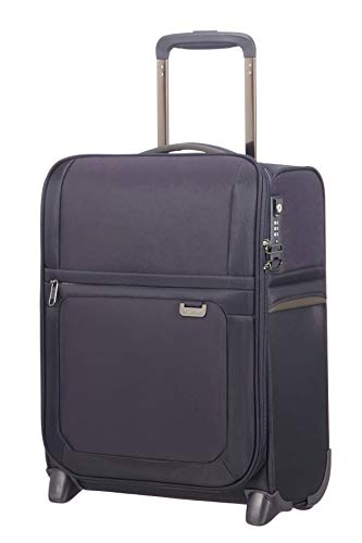 Samsonite Uplite Upright Underseater with USB Port Suitcase 45 cm, Blue (Blue) - 115776/1090