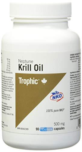 Trophic Aceite de Krill Neptuno 500 mg 90 Cápsulas 90 g