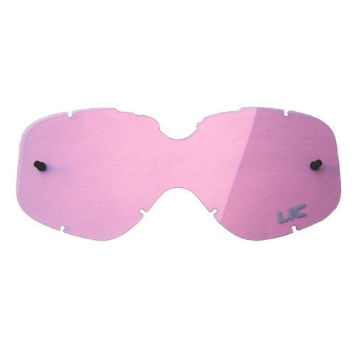 Liquid Image 617 MX Goggle Lens for Summit and Impact Series Goggles - Pink - S/M Size