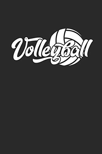Volleyball: Notizbuch für Volleyball Spieler Notebook Journal 6x9 lined