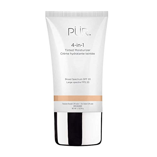 PÜR 4-in-1 Tinted Moisturizer, Broad Spectrum SPF 20 in Medium 1.0 oz
