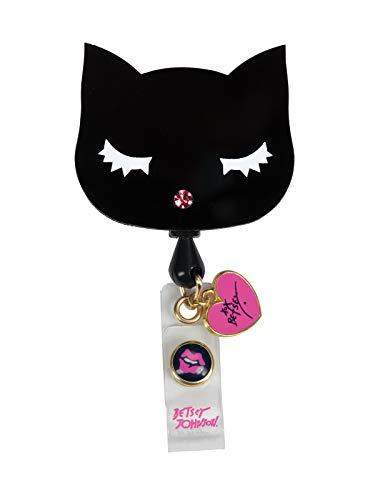 KOI Accessories BA156 Women's Betsey Retractable Badge Reel Cat OS