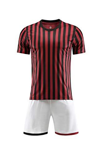 2019-2020 nieuw seizoen volwassenen kinderen jongens voetbalshirt set, gepersonaliseerd shirt T-shirt en shorts, je kunt de naam + nummer aanpassen om je eigen shirt te maken