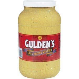 Gulden s Spicy Brown Mustard 1 gal