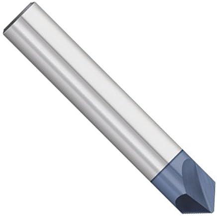 AlTiN Coating Full Length 50 mm Head Diameter 6 mm 60 Degree Dormer S7396.0 Shank Chamfering End Mill Flute Length 16 mm HM