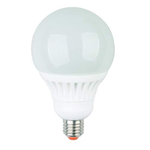 Jedi LT01860 Bombilla LED E27 C60 Globe G100 11W 810 lúmenes Cristal ópalo 3000K blanco cálido