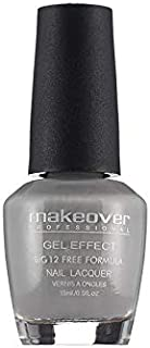 Makeover Professional Gel Nail Paint For Women And Girls (Grey)