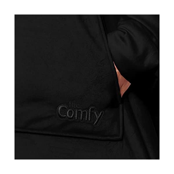 THE COMFY | The Original Oversized Sherpa Blanket Sweatshirt, Seen On Shark Tank, One Size Fits All