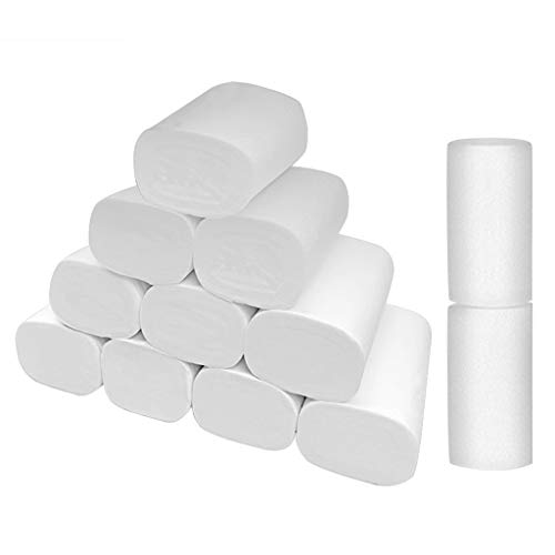 Why Choose Xinantime New Strong Soft 4-Ply Toilet Paper Bath Tissue Giant Roll 12 Rolls(12 Rolls)