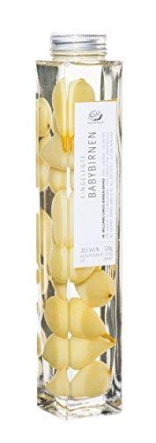 Gourmet Berner Baby Birnen eingelegt in Williams Christ Birnenbrand 0,5l