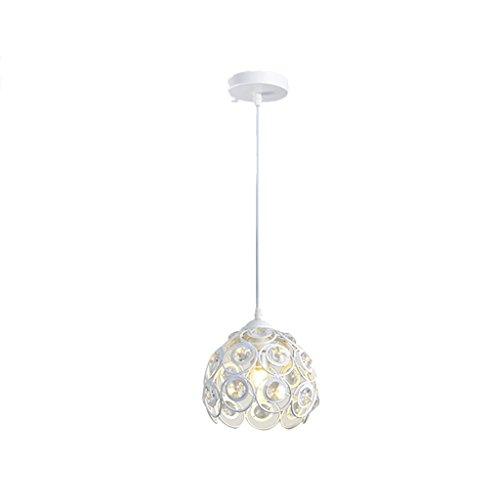 Kroonluchter kristal eettafel creatieve persoonlijkheid Drie Moderne eenvoudige Single LED gang bar restaurant lamp