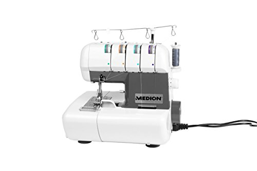 MEDION MD 16600 Overlock Nähmaschine (90 Watt...