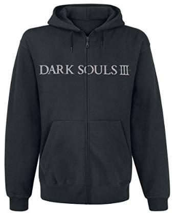 Dark Souls 3 Hoodie -XL- You Died, schwarz [import allemand]