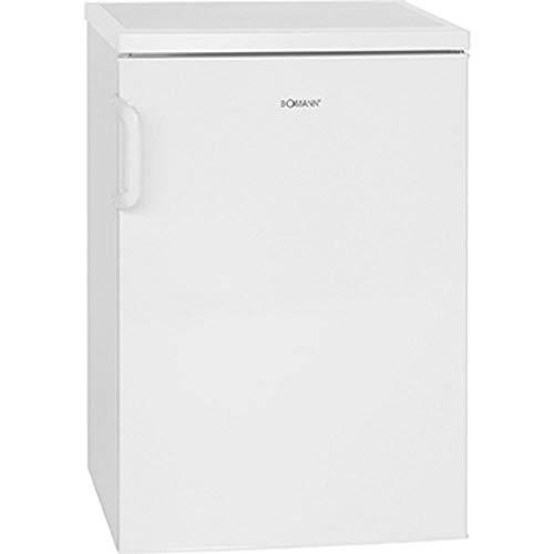 Bomann VS 2195.1 Vollraumkühlschrank / Energieeffizienzklasse D / 84.5 cm / 72 kWh/Jahr / 133 L Kühlteil / weiß