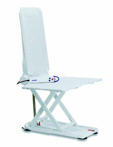 Invacare Aquatec Orca - Asiento elevador para baño, color blanco
