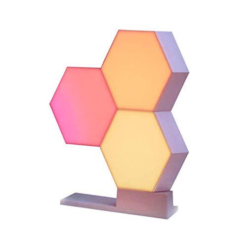 WiFi Smart LED Nachtlicht Kit Spleißen 3 Blöcke & Basis 16 Millionen Color Work Cololight mit Home Decor