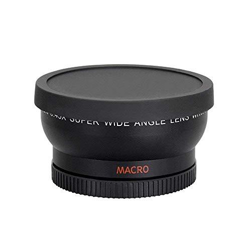 XZANTE Lente De Conversor Gran Angular 0.45X 58Mm con Accesorio De Primer Plano Macro para Canon EOS Rebel T6S, T6I, Sl1, T5, T5I, T4I, T3I, T3I, T1I, T2I, Xsi, XS, Xti, Xd, 60D, 60Da