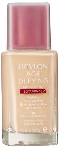 Revlon Age Defying Makeup with Botafirm, SPF 20, Normal/Combination Skin, Fresh Ivory 01, 1.25-Ounce