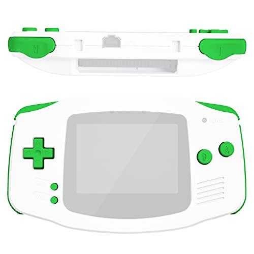 eXtremeRate GBA Pulsanti Tasti Set Ricambio per Gameboy Advance-NON Include Console di Gioco Portatile-Verde