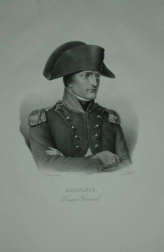 Portrait. Brustfigur nach viertelrechts in Uniform mit dem