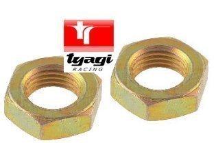 Tyagi Racing 3//4/UNF Kontermutter Jam Chuck Nut H/älfte Jam Nut Linke Hand