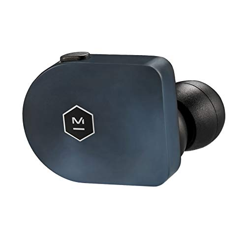 Master & Dynamic MW07 True Wireless - Auricular inalámbrico, color azul