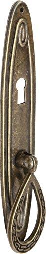 Imex El Zorro 78012 El Zorro 78012-Tirador Anilla Placa con bocallave, 24 x 102 mm