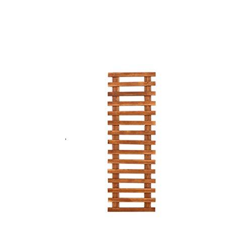 MMSYDT Wandplank Houten Conserveermiddel Groene Radijs Balkon Hoek Op De Muur Wandmontage Plant Wandrooster Suspensie 50/130cm Hoog LYX®