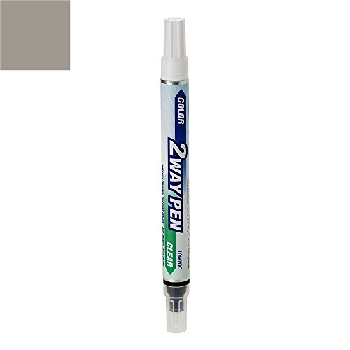 ExpressPaint 2WayPen - Automotive Touch-up Paint for Chrysler Sebring - Silver Steel Metallic Clearcoat PA4 - Color + Clearcoat Only