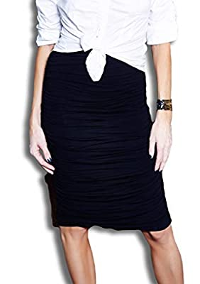 724 Clothing - High Waisted, Double Lined, Ruched Skirt