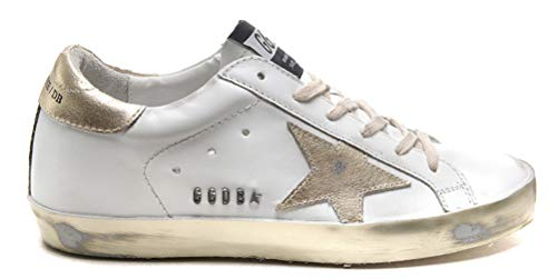 Golden Goose Damen Casual Sneakers Super Star Francy Sportschuhe Goldene Schuhe, Metall - Größe: 43 EU