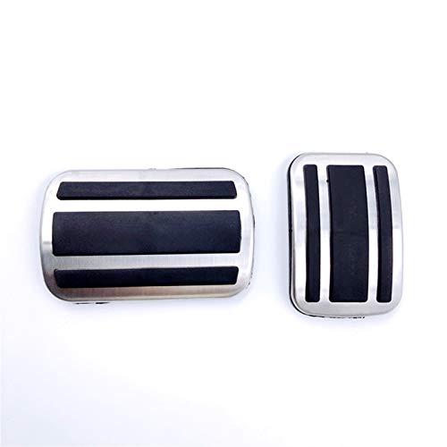 CGDD Pedali per Auto Car Styling Pads Break Accelerator Pedals per Peugeot 308 3008 408 4008 5008 per Citroen C5 Picasso A MT Accessori per Auto Rilievi del Pedale Auto (Taglia : AT)