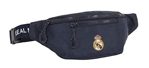 Safta-812034446 Real Madrid CF Riñonera, Color Azul Marino (812034446)
